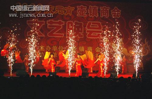 壶镇商会举办元宵文艺晚会(图)