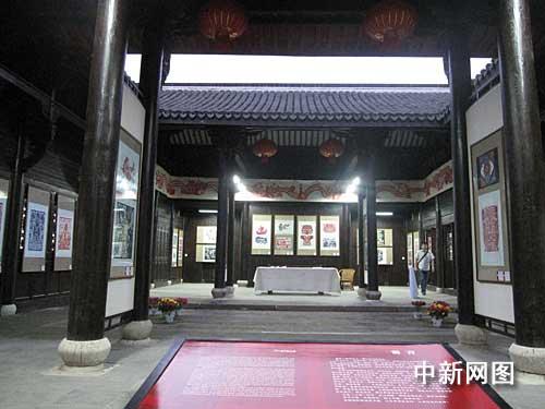 喜迎六十周年国庆 中国最高水平剪纸展开展