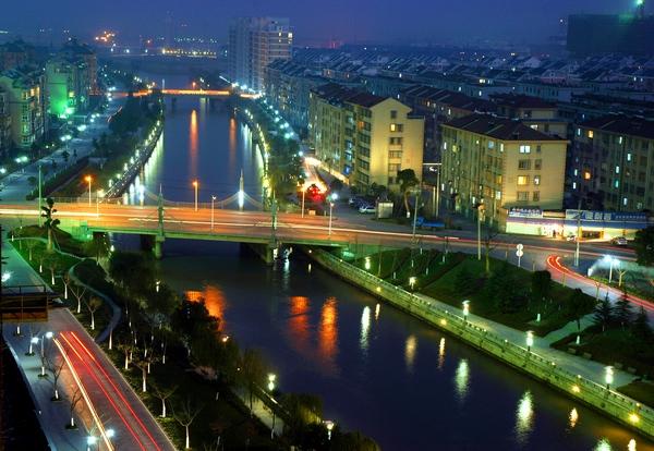 北港河之夜