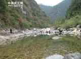 山谷 溪流