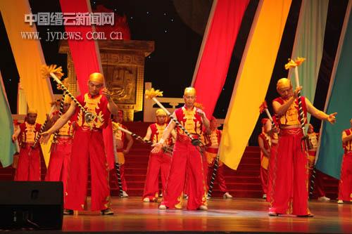 《钢叉舞》获浙江传统绝技绝艺展演优秀奖图