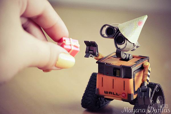Wall-E主题摄影作品