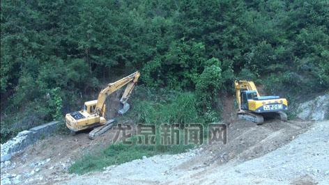 高塘生活垃圾卫生填埋场改建工程(一期)项目正式开工建设