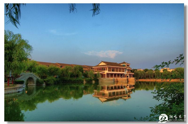 嵊州风光(三)剡湖----越乡茶楼
