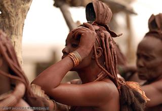 多妻制度的辛巴族