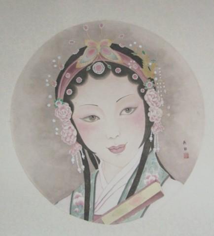嘉兴市第七届女画家扇面作品展