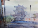 """浙江省美术家""""与时代同行""""庆元采风作品"""