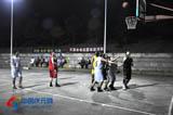 左溪水电站篮球邀请赛开赛