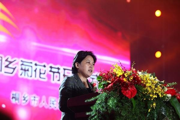 中国 鲁俊/嘉兴市市长鲁俊致辞。
