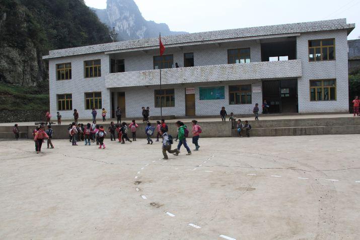 纳雍承明希望小学校园