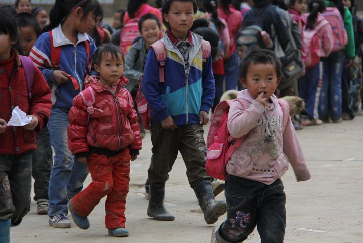 纳雍承明希望小学的孩子们