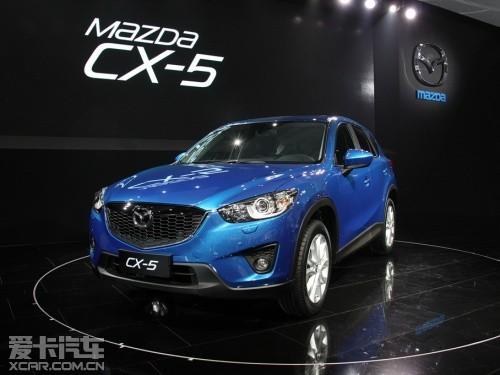 或明年国产 马自达CX 5增2.5发动机