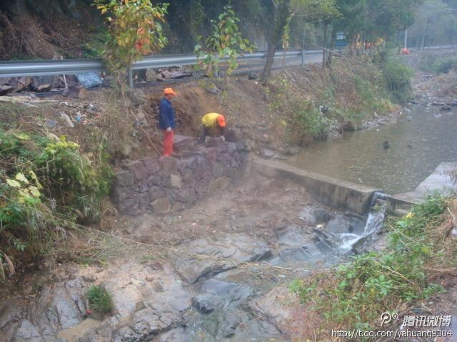 雅璜乡抓住有利时机加快水利水毁工程修复