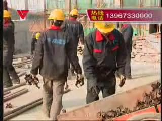 [12月13日] 建筑工人比武 真功夫了得