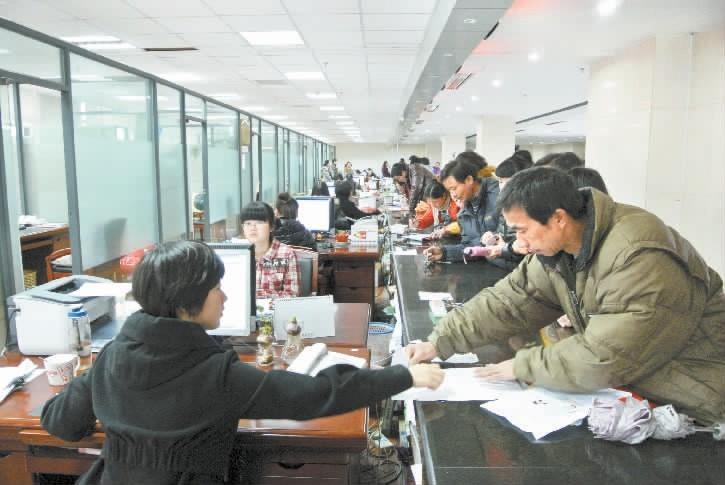 社保办理忙-保险,-东阳新闻网