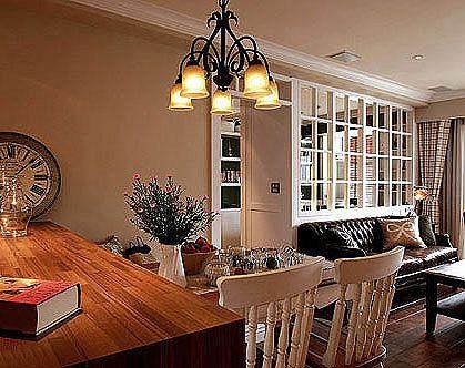 地板装修打造复古美式乡村家居风格