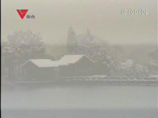 [01月05日] 绮园南北湖雪景如画