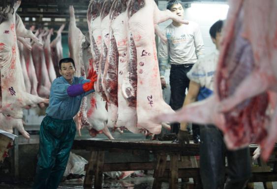局新闻发言人制度_屠宰场里把好关 让市民吃上放心肉--海宁新闻网