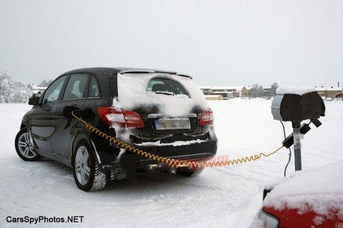 梅赛德斯 奔驰B级电动车测试谍照