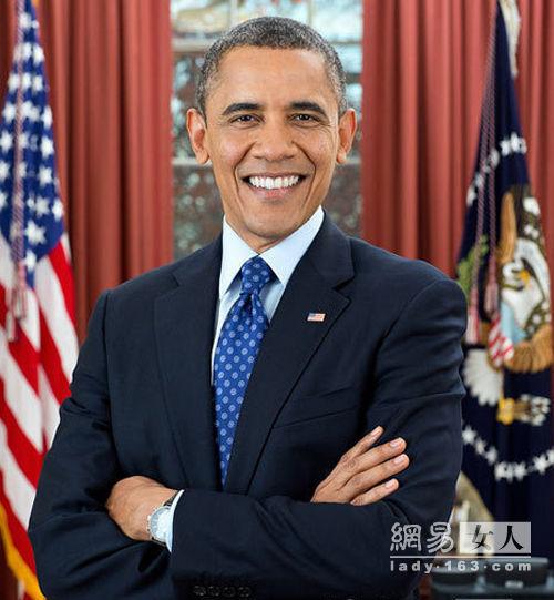 白宫发布奥巴马总统画肖像戴jorg gray jg6500平价手表时髦亮相