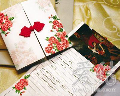 邀请函、签到本配套设计-纸品装饰婚礼别具一格图片