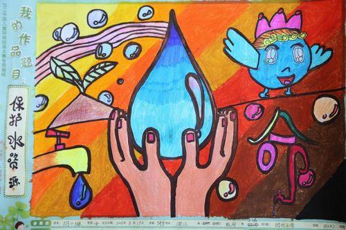 节约水资源儿童画,珍惜水资源的儿童画,保护水资源儿童画,珍惜水资源图片