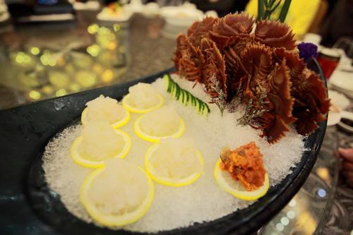琵琶虾,吃法和龙虾相似,但是肉质上非常柔软爽口