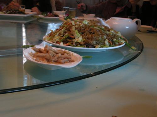 温岭美食:海鲜绿豆面,让人百吃不厌