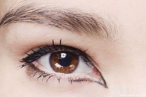 时尚 画好眼妆的决胜线 深造眼妆术