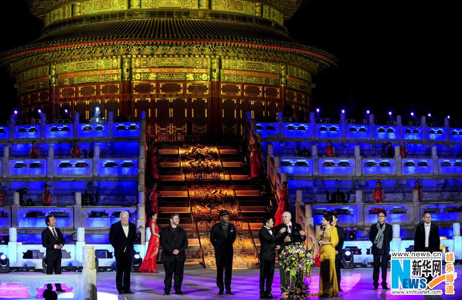 北京电影节天坛开幕
