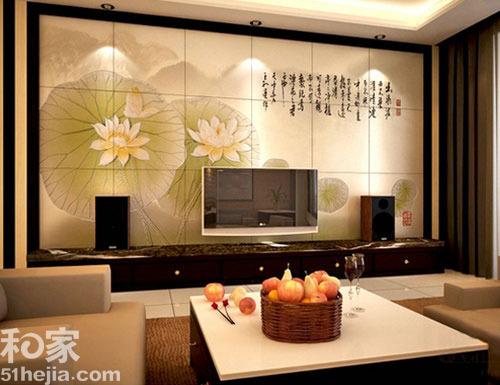 中国艺术资讯电视�_11个瓷砖电视背景墙设计方案,把中国的传统艺术和现代的审美观相结合