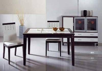 创意餐桌(餐桌装修效果图)设计-个性时尚餐桌椅设计 给厨房添新意高清图片