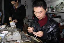 """银器加工传统技艺""""非遗""""传承人叶满和"""