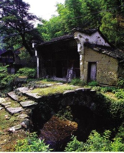 老村口的禹王庙和石拱桥