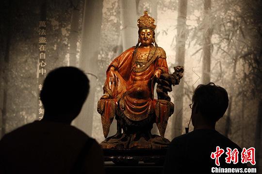 木雕佛像专场拍卖