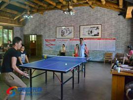 """百山祖镇举办""""百山祖杯""""乒乓球赛"""