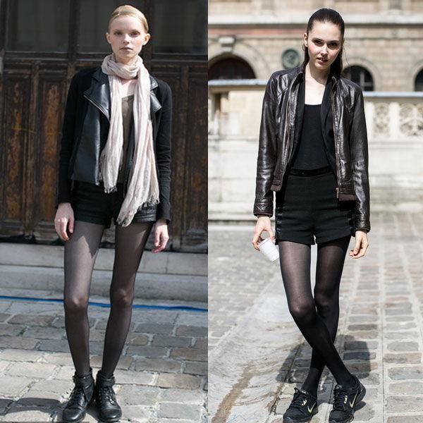 穿上6种时髦街头范儿 敢和模特拼腿长 legging