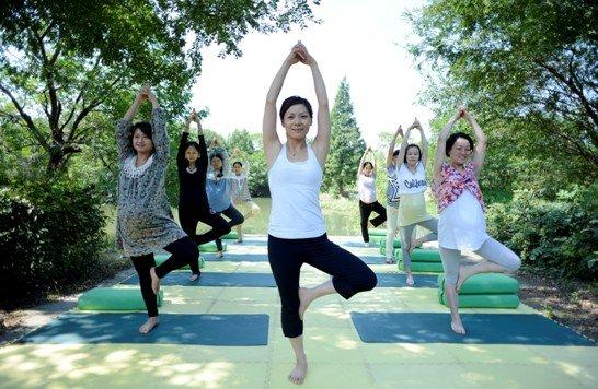 孕妇瑜珈运动胎教课程免费送啦!
