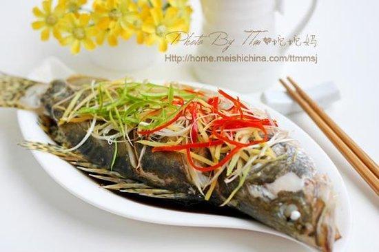 住家厨房做出无与伦比的鲜美:清蒸桂鱼