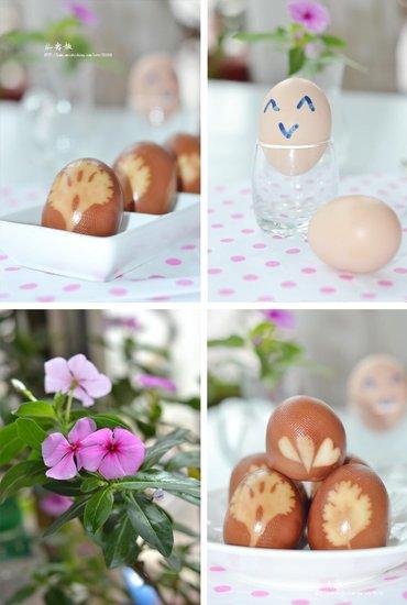 变着花样吃鸡蛋 印花卤蛋令生活妙趣横生