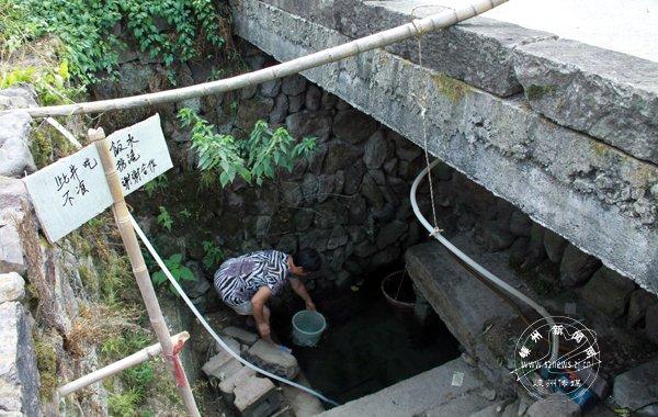 村民启用废弃老井