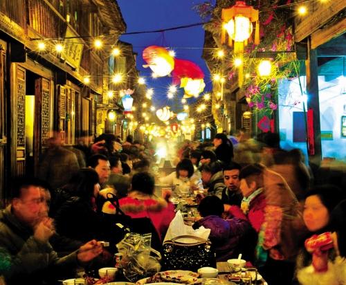 乌镇长街宴