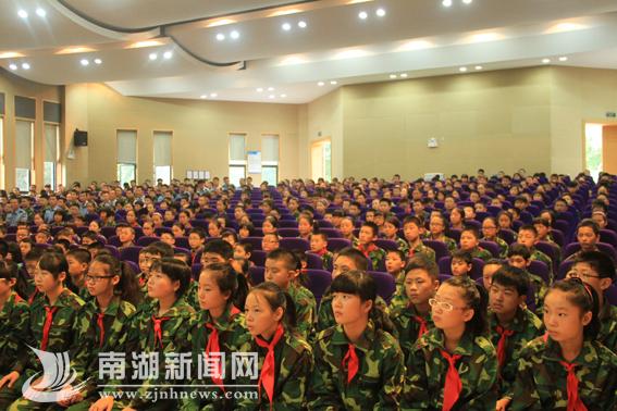 教育初中实验初中集团毕业开训--南湖新闻网能后吗?去军训韩国留学直接新生图片