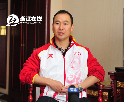 吕林小结浙江队全运会半程表现 男子U18足球是最大惊喜
