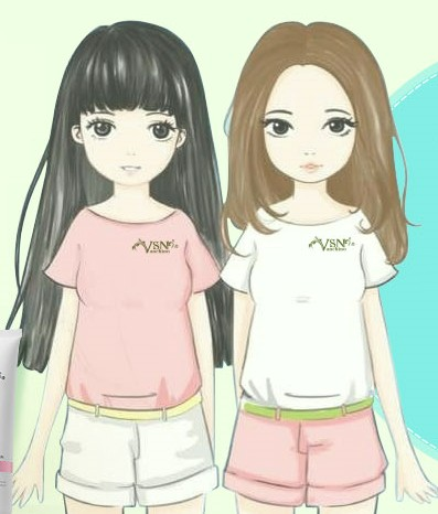 两个小女生的友情成就大梦想图片