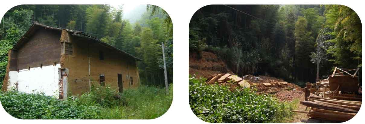 9月10日,庙下乡梅林村严某拆除泥木结构住宅(一户多宅),面积250㎡图片