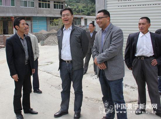 [快讯]县委书记林康深入渤海,郑坑调研指导工作图片
