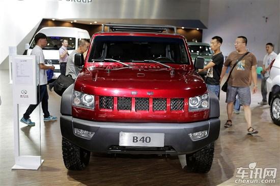 北汽B40或定名 北京吉普BJ40 预售20万高清图片