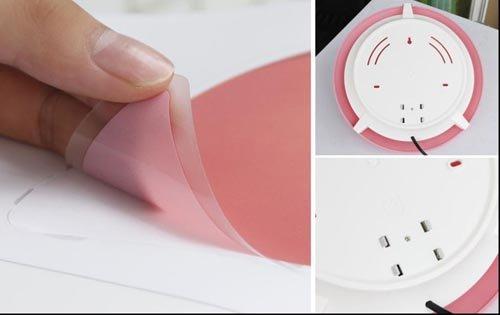 壁灯和墙纸的创意组合 斑点狗 粉红猪