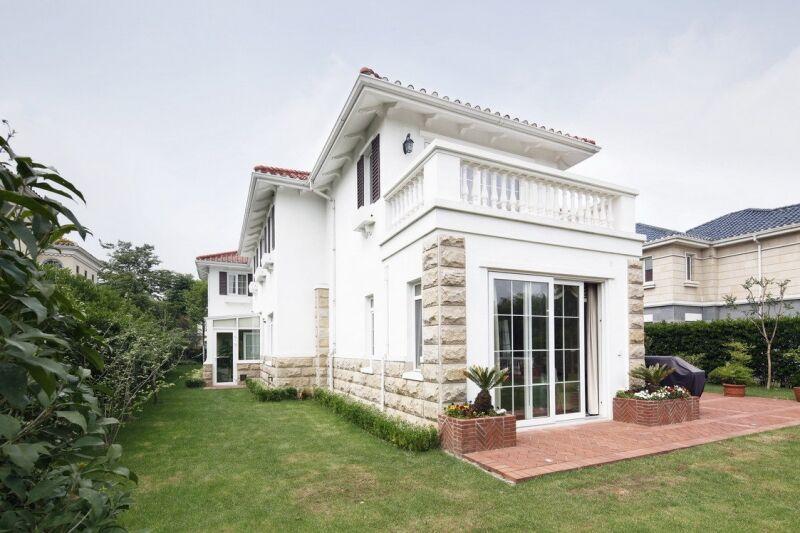 [家居美�D] 超�美式����豪宅,食品�g,洗衣房每��房�g都分工明�_